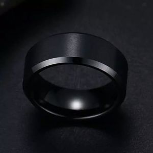 Wedding Band - Stainless Steel - 8MM - Sizes 7-12